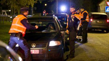 Illustration: la sécurité routière est une priorité pour la zone de police de Bruxelles-Nord qui a renforcé son service Circulation et ses contrôles ces deux dernière années.