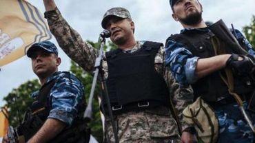 Ukraine - Un chef séparatiste blessé par balles