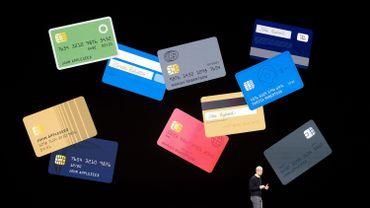 Apple lance une carte de crédit
