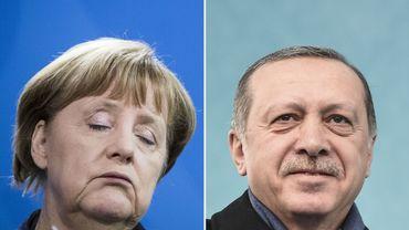 """Berlin juge """"inacceptables"""" les propos d'Erdogan accusant Merkel de """"pratiques nazies"""""""