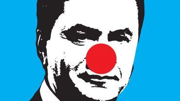 Egor Petrov, Strike Poster, 2013 'yanukovich_red_nose'