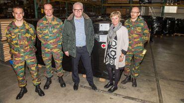 L'aide belge aux Peshmergas est prête à partir vers l'Irak