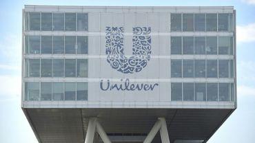 Le siège d'Unilever, qui a confirmé ses objectifs annuels, à Rotterdam le 5 juin 2015
