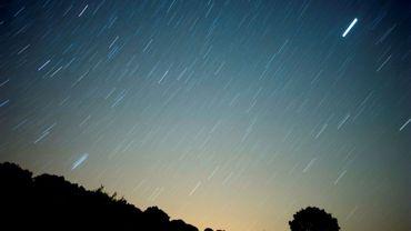 Une météore traverse le ciel de Grazalema en Espagne le 13 août 2010