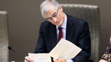 Geert Borugeois, le ministre flamand chargé de la Politique intérieure