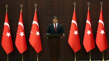 Le président turc Tayyip Recep Erdogan, le 26 novembre 2015 au Palais présidentiel à Ankara
