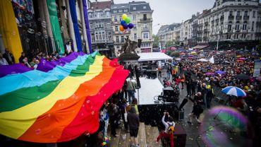 Bruxelles: la 20ème édition de la Belgian Pride haute en couleur