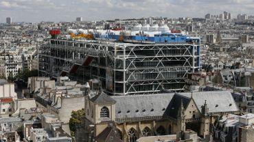 Le Centre Georges Pompidou, à Paris