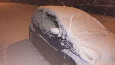 La neige est de retour en Ardenne : prudence
