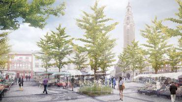 Parmi les projets de rénovation, il y a celui de la Place du Manège