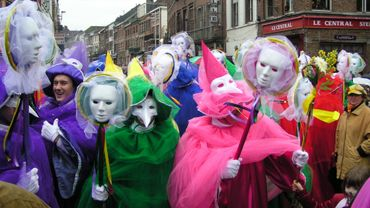 Lancement du carnaval de Binche ce dimanche (photos)