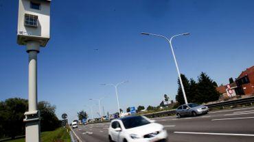 Pas de nouveaux radars fixes sur les autoroutes flamandes