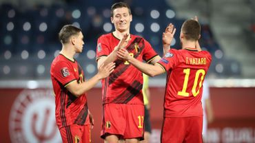 Diables Rouges : Trossard, Vanaken et Thorgan Hazard