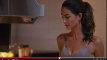 Capture d'écran Youtube Victoria's Secret.