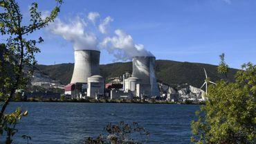 Centrale nucléaire de Cruas (Ardèche), au bord du Rhône, le 10 octobre 2017
