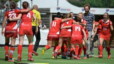 Le Racing et l'Antwerp se disputeront le titre chez les dames