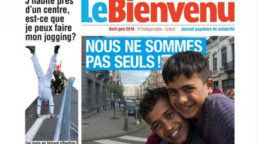 """""""Bienvenu"""": un 'faux' journal pour casser les préjugés sur les réfugiés"""