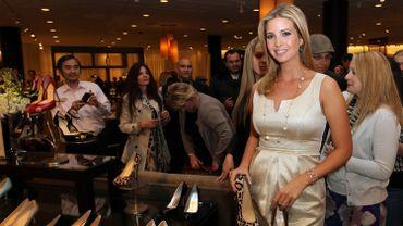 Ivanka Trump lors du lancement de sa collection 2011 de chaussures