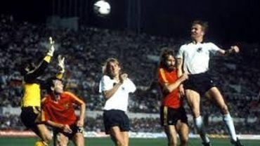 La Belgique en finale de l'Euro 80.