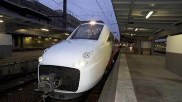 Un train à grande vitesse Fyra bloqué à la frontière belge