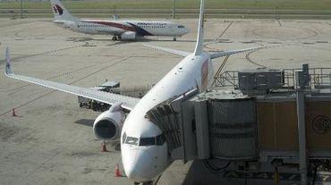 Des appareils de la compagnie Malaysian Airlines sur le tarmac de l'aéroport de Kuala Lumpur, le 18 juillet 2014