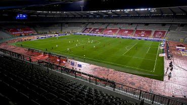 Le 8 septembre dernier, les Diables Rouges s'étaient imposés 5-1 face à l'Islande dans un Stade Roi Baudouin complètement vide