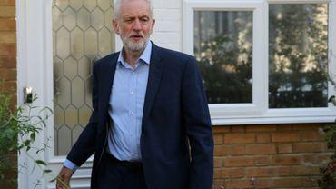 Le patron du Parti travailliste britannique Jeremy Corbyn, le 27 août 2019 à Londres