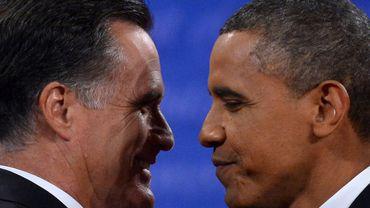 Barack Obama et Mitt Romney