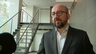 """Charles Michel (MR): """"L'écart PS-MR est historiquement bas"""""""