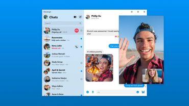 Une application officielle Facebook Messenger pour Mac et PC