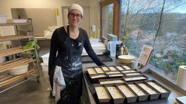 Lancée juste avant le premier confinement, la boulangerie de Laurence a tout de suite trouvé sa clientèle.