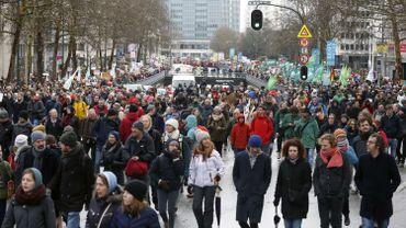Nouvelle manifestation pour le climat ce jeudi à Bruxelles, avec le renfort des étudiants du supérieur