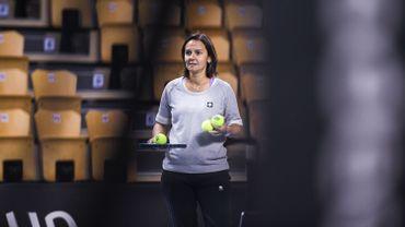 Dominique Monami très surprise par le retour de Kim Clijsters à la compétition