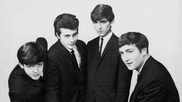 Paul McCartney, Pete Best, George Harrison et John Lennon