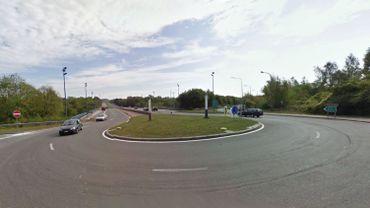 Les lieux de l'accident à Gilly