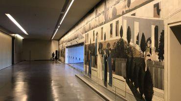 La plus grande fresque de Paul Delvaux, visible au Mont des Arts