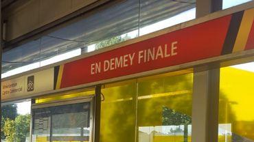 """""""En demey finale"""", """"Merode duivels"""", la STIB soutient les Diables rouges à sa manière"""