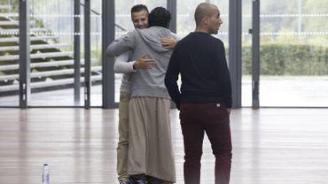 Photo prise pendant le procès de membres de Sharia4Belgium en 2014.