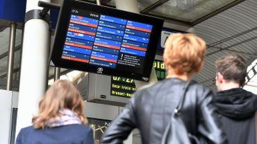 Grève du 28 au 30 juin à la SNCB: 1 train sur 3 circulera