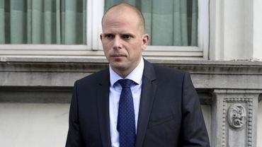 Theo Francken, secrétaire d'État à l'Asile et à la Migration