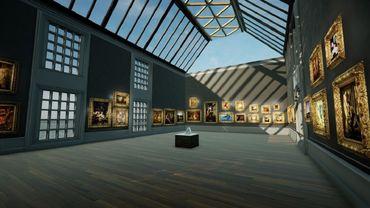 Le musée de Birmingham s'est associé à la start-up Smart Pixels pour mettre en ligne les oeuvres de sa collection dans le jeu Occupy White Walls.