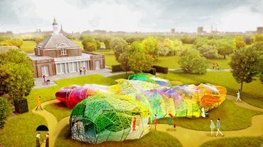 Le Pavillon Serpentine, dessiné par SelgasCano, ouvrira ses portes en juin pendant le London Architecture Festival.