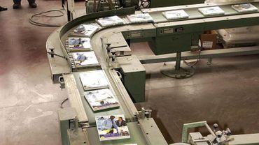 Tournai: licenciement collectif chez Casterman Printing (illustration)