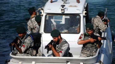 La marine iranienne nargue les USA.