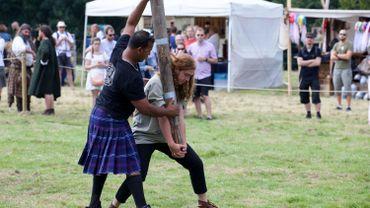 9.000 personnes sont passés ce week-end par la ferme d'Hougoumont pour les Scottish Days.