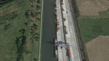 Le Port Autonome du Centre et de l'Ouest à La Louvière