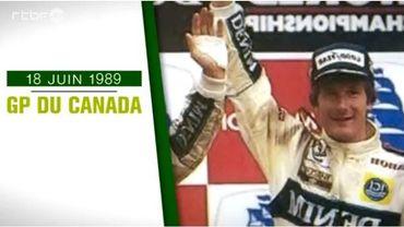 Canada 1989: La première de Thierry Boutsen