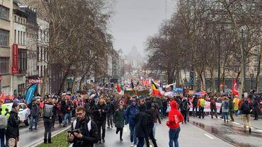 Marche pour le climat à Bruxelles: 70.000 participants selon la police