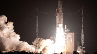 250e décollage pour la fusée Ariane, le 26 novembre 2019 à Kourou