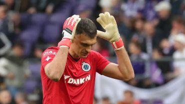 Le Club de Bruges se sépare de son gardien Vladimir Gabulov